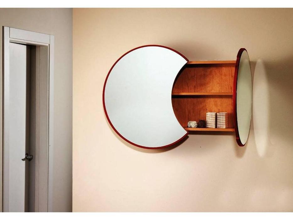 Шкаф навесной с зеркалом в прихожую