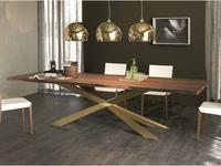 стол обеденный TOP  A  Cattelan Spyder Wood (walnut)